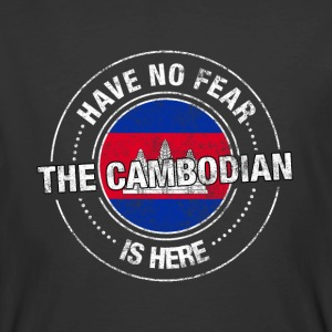 Have No Fear The Cambodian Is Here - Men's 50/50 T-Shirt