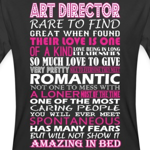Art Director Rare To Find Romantic Amazing To Bed - Men's 50/50 T-Shirt