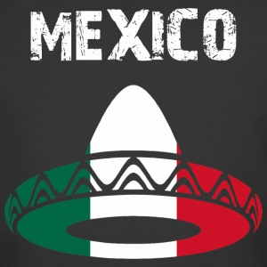 Nation-Design Mexico Sombrero - Men's 50/50 T-Shirt