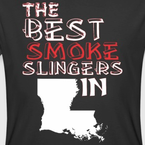 The Best Smoke Slingers In Louisiana Barbecue - Men's 50/50 T-Shirt