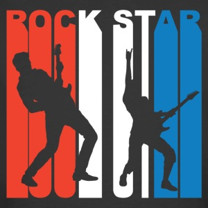 Red White And Blue Rock Star - Men's 50/50 T-Shirt