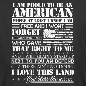 Proud American Patriotic Shirt - Men's 50/50 T-Shirt