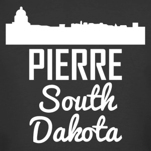 Pierre South Dakota Skyline - Men's 50/50 T-Shirt