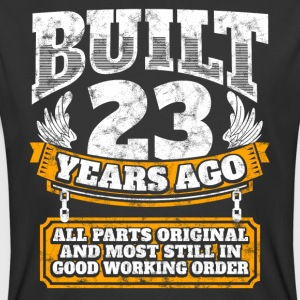 23th birthday gift idea: Built 23 years ago Shirt - Men's 50/50 T-Shirt