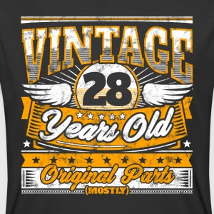 Funny 28th Birthday Shirt: Vintage 28 Years Old - Men's 50/50 T-Shirt