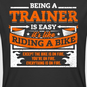 Trainer Shirt: Being A Trainer Is Easy - Men's 50/50 T-Shirt