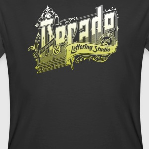 Decade Lettering - Men's 50/50 T-Shirt