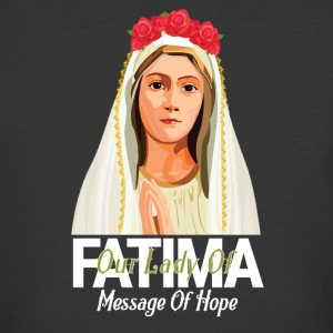 Our Lady Of Fatima D - Men's 50/50 T-Shirt