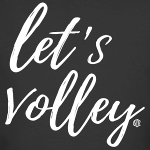 Let's Volley Volleyball Team Design - Men's 50/50 T-Shirt
