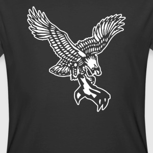 FROSTY TEES MENS EAGLE CLAW TATTOO STYLE - Men's 50/50 T-Shirt