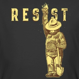 Smokey say RESIST - Men's 50/50 T-Shirt