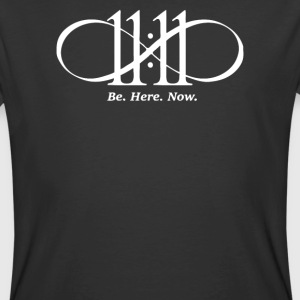 BE HERE NOW - Men's 50/50 T-Shirt