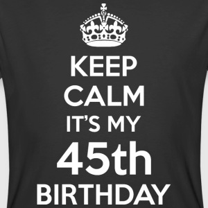 Keep Calm Its My 45th Birthday - Men's 50/50 T-Shirt