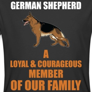 The German Shepherd - Men's 50/50 T-Shirt