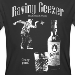 Raving Geezer Whiskey - Men's 50/50 T-Shirt