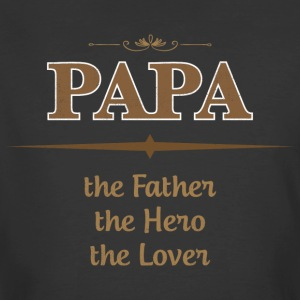 PAPA The Father The Hero The Lover T Shirts - Men's 50/50 T-Shirt