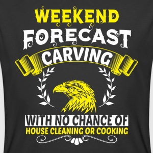 Weekend Forecast Carving T Shirt - Men's 50/50 T-Shirt