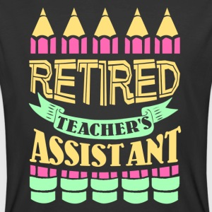 Retired Teacher Assistant Shirt - Men's 50/50 T-Shirt