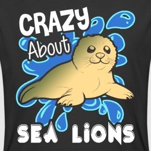 CRAZY ABOUT SEA LIONS SHIRT - Men's 50/50 T-Shirt