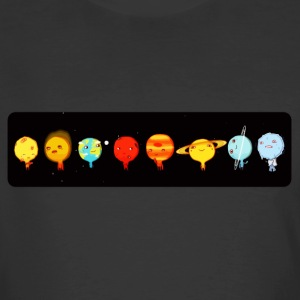 Cute planets comic - Men's 50/50 T-Shirt