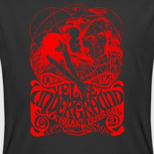 The Velvel Underground Black Snake - Men's 50/50 T-Shirt