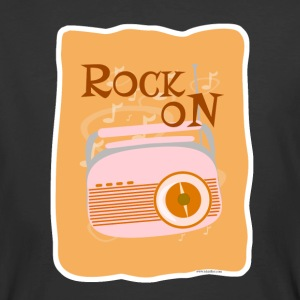 Rock On Retro Radio - Men's 50/50 T-Shirt