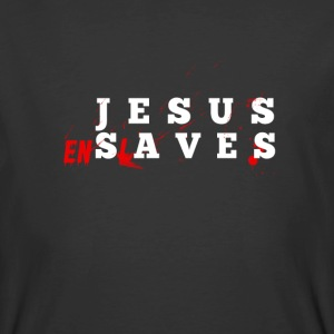 JesusEnslaves - Men's 50/50 T-Shirt