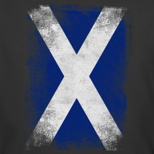 Scotland Flag Proud Scottish Vintage Distressed - Men's 50/50 T-Shirt
