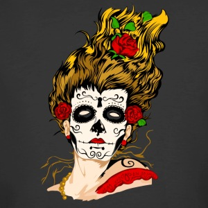 The Day of The Dead Skull Face - Men's 50/50 T-Shirt
