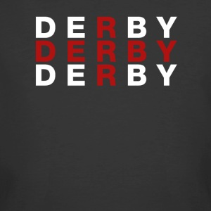 Derby United Kingdom Flag Shirt - Derby T-Shirt - Men's 50/50 T-Shirt
