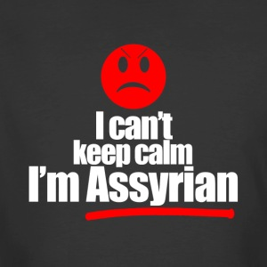 I can't keep calm, I'm assyria - Men's 50/50 T-Shirt