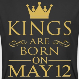 Kings are born on May 12 - Men's 50/50 T-Shirt