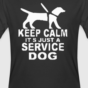 Service dog Short Sleeve - Men's 50/50 T-Shirt