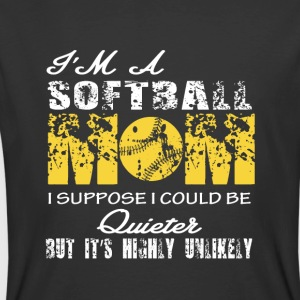I'm A Softball Mom T Shirt - Men's 50/50 T-Shirt