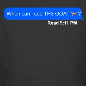 when can i see th3 goat - Men's 50/50 T-Shirt
