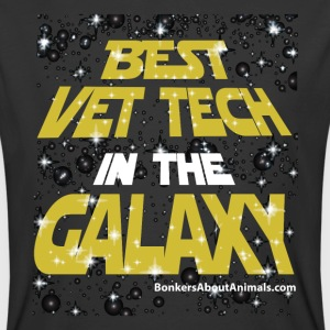 Best Vet Tech in the Galaxy - T-Shirt - Men's 50/50 T-Shirt