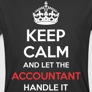 Keep Calm And Let Accountant Handle It - Men's 50/50 T-Shirt