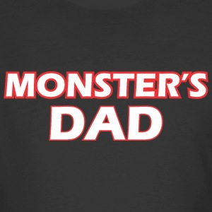 Awesome Monsters Dad - Men's 50/50 T-Shirt