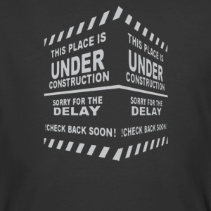 This pleace is Under Construction - Men's 50/50 T-Shirt
