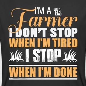 I'm A Farmer Dad T Shirt - Men's 50/50 T-Shirt