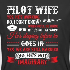 Pilot Wife T Shirt - Men's 50/50 T-Shirt
