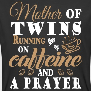 Running On Caffeine And A Prayer T Shirt - Men's 50/50 T-Shirt