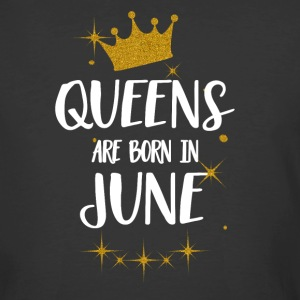 QUEENS ARE BORN IN JUNE - Men's 50/50 T-Shirt