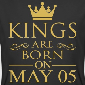Kings are born on May 05 - Men's 50/50 T-Shirt