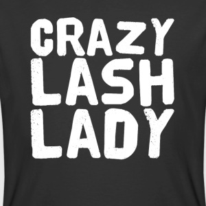 Crazy Lash Lady - Men's 50/50 T-Shirt