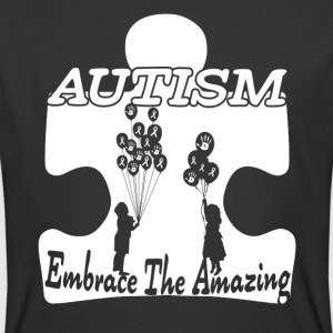 AUTISM EMBRACE THE AMAZING SHIRT - Men's 50/50 T-Shirt