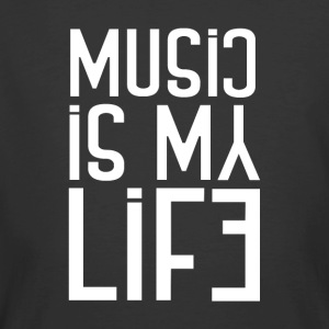 Music is My Life - Men's 50/50 T-Shirt