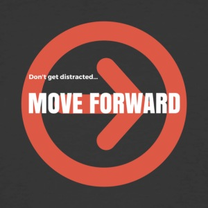 Move Forward - Men's 50/50 T-Shirt