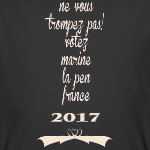 Votez Marine La Pen France 2017 - Men's 50/50 T-Shirt