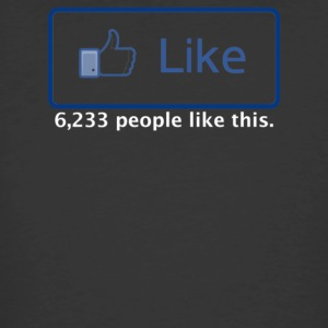 Facebook Like - Men's 50/50 T-Shirt